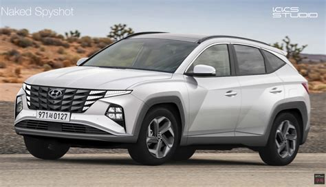 Tucson pushes the boundaries of the segment with dynamic design and advanced features. 2021 Hyundai Tucson 'NX4' envisioned, could be very ...