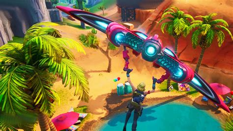 fortnite   find  beach party locations
