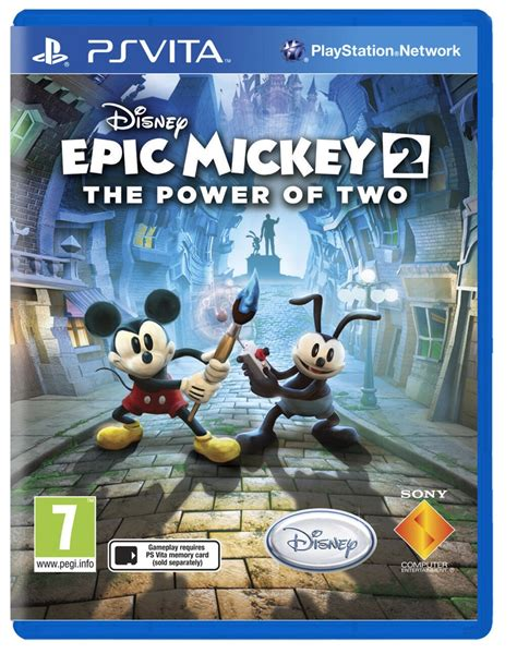 Epic Mickey 2 The Power Of Two Coming To Ps Vita In The