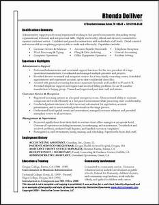 Professional administrative assistant resume example for Administrative professional resume