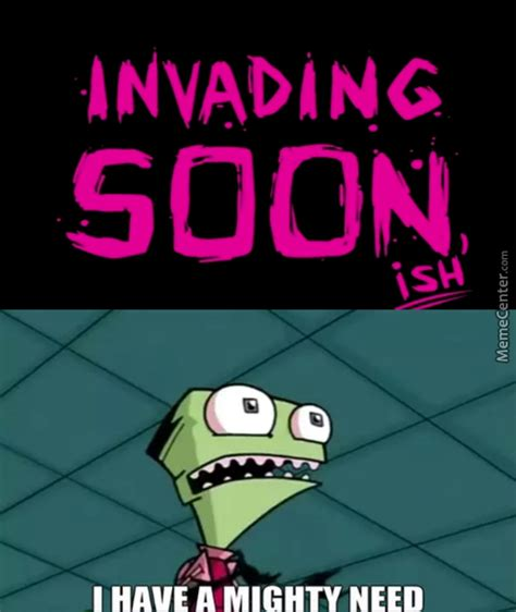 Zim Meme - invader zim memes best collection of funny invader zim pictures
