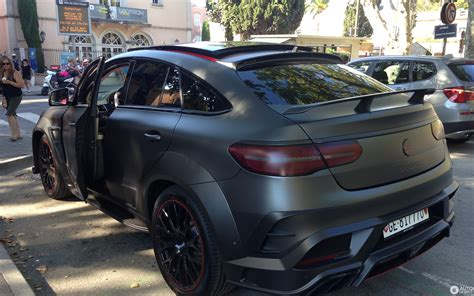 It's the ceo that takes no prisoners. Mercedes-AMG Mansory GLE 63 S Coupe - 4 agosto 2016 - Autogespot