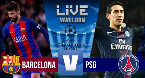 Barcelona 6-1 Paris St-Germain (6-5 agg) - BBC Sport