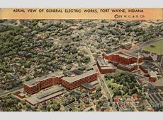 Aerial View of General Electric Works Fort Wayne, IN