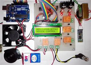 Speech Controlled Home Automation Project Using Arduino