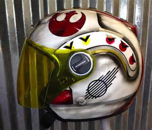 Rebel Star Wars Motorcycle Helmet