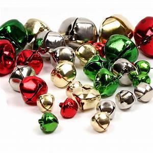 Multi-Coloured Jingle Bells 30 Pack Hobbycraft