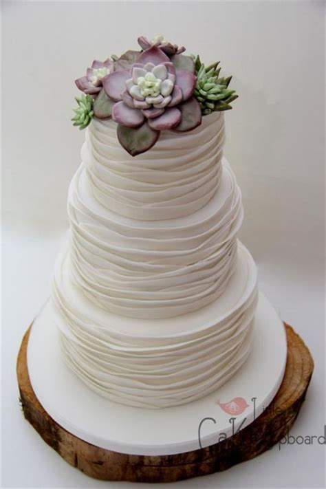 succulent wedding cake inspiration  wow