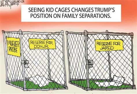 trumps family separation reversal darcy cartoon
