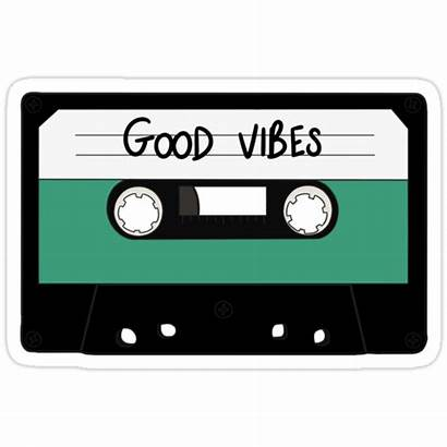 Vibes Stickers Hipster Redbubble Sticker Indie Rock