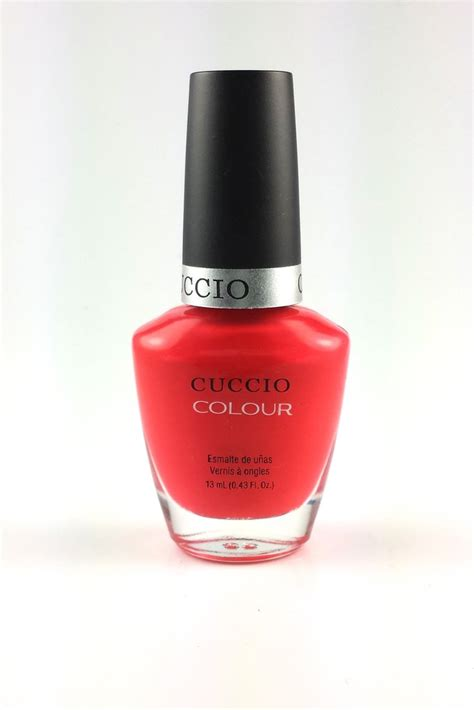 street fair cosmetics cuccio colour nail lacquer