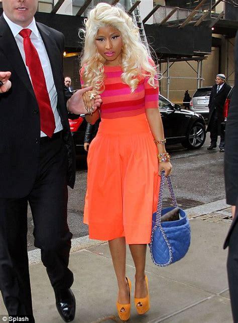 Nicki Minaj Rox Bold Bright Colors For Mac Promo