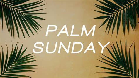 Palm Sunday Adult Devotional 412020 Childress Umc