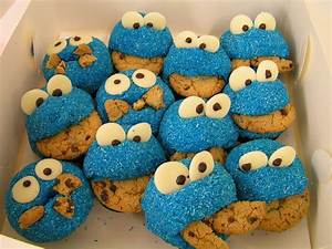 Cookie Monster Cupcakes BBC Good Food