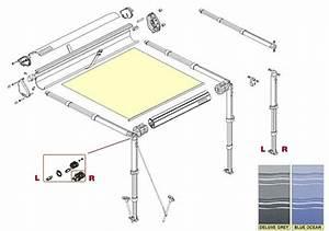 Toile Pour Store Enrouleur Exterieur : store f35 m grey auvent pour 4x4 et voitures ~ Edinachiropracticcenter.com Idées de Décoration