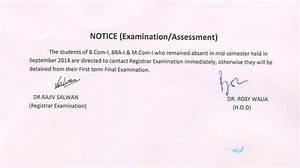 Student Notice Board – Govt. College of Commerce and ...