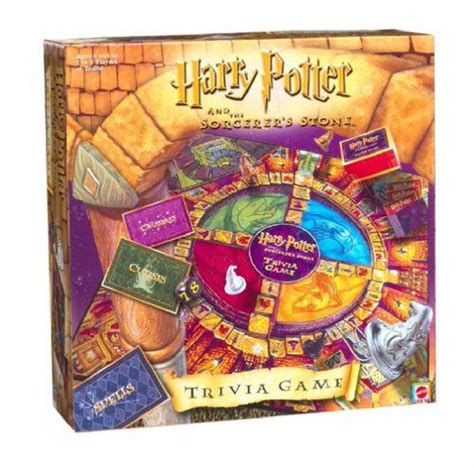 Harry Potter And The Sorcerers Stone Trivia Board Game