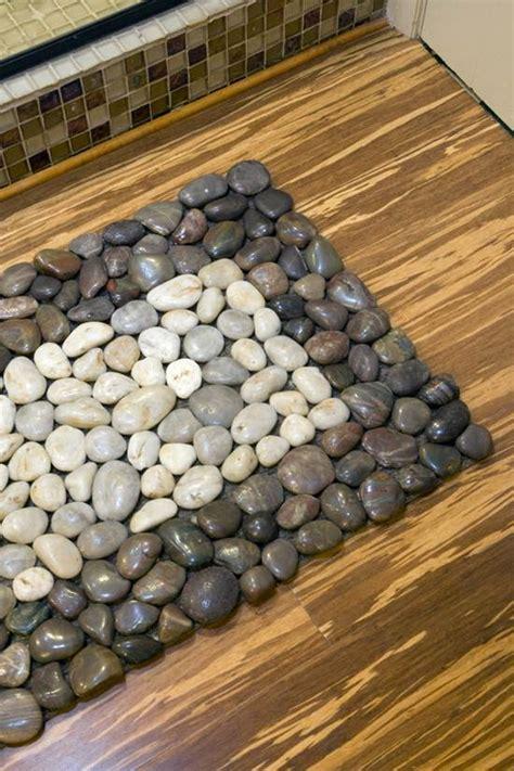 river rock doormat how to diy floor mat icreativeideas