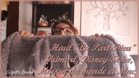 haul la part dieu de lyon primark disney store mac  maison du monde youtube