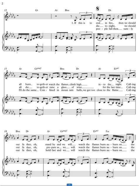 i see fire page 2 all things j r r tolkien piano