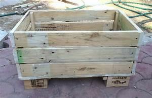 Palette De Bois : jardiniere bois palette ~ Premium-room.com Idées de Décoration
