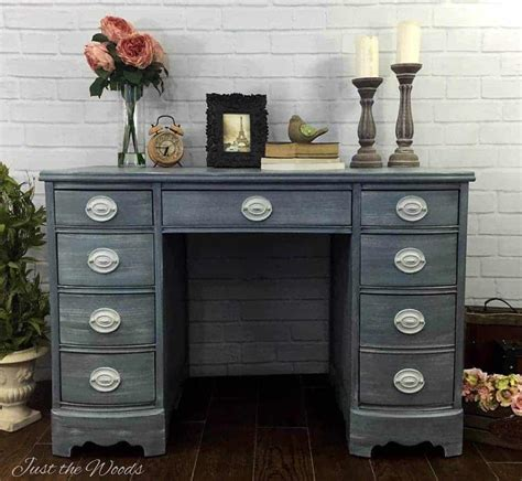 shabby chic desk shabby chic painted hepplewhite desk by just the woods