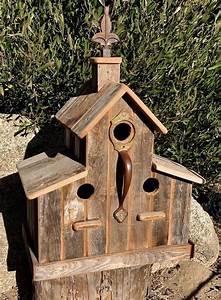 Old, Barn, Birdhouse