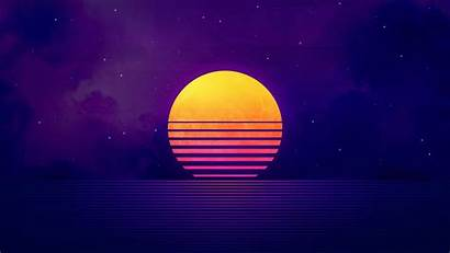 Retrowave 4k Sunset Wallpapers Vaporwave Fondos Pantalla
