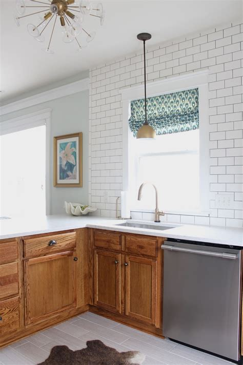 kitchens with oak cabinets updating a 90s kitchen without painting cabinets 7686