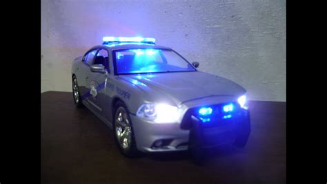 custom  kentucky state police dodge charger  working