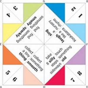 cootie catchers print out printable paper fortune tellers With how to make a chatterbox template