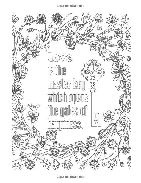 Amazon.com: 50 INSPIRATIONAL Coloring Quotes: An Adult