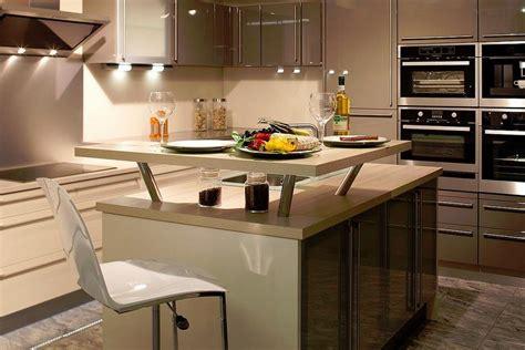 photo de cuisine avec ilot davaus modèle cuisine avec ilot central avec des