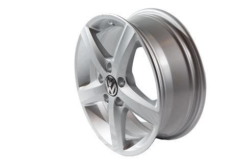 volkswagen golf  aspen winter wheels silver wheels