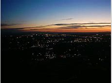 Boise, ID North Boise at Dusk View from Table Rock