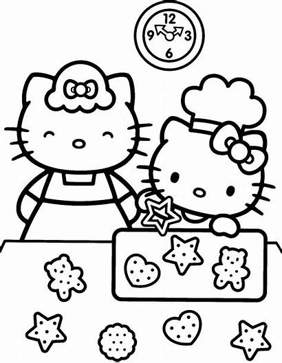 Kitty Hello Coloring Pages