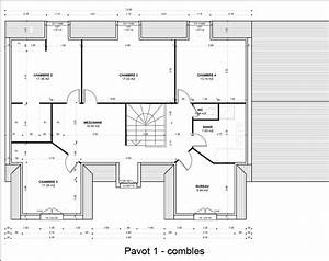 plans maison duplex maison moderne With plan maison etage 100m2 11 arts and crafts architecture plans de villas