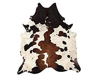 Real Cowhide Rugs tricolor large cowhide rugs 5x6 real cowhide