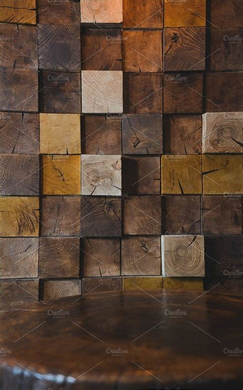 modern wood texture  wall  cafe  promotion
