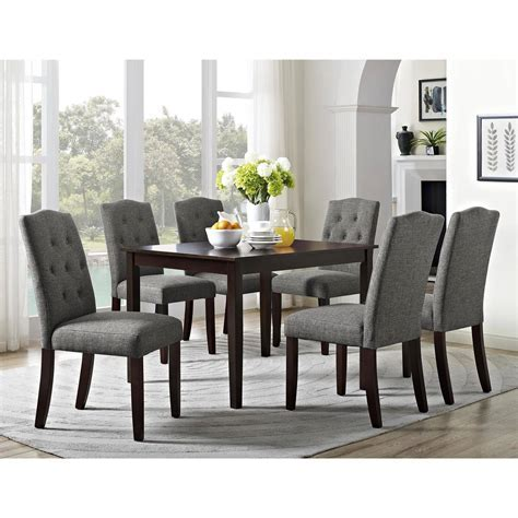 Dining Room: Enchanting Tufted Dining Chair For Home