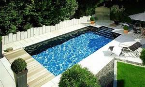 pool im gartenfoto schwimmen schwimmbad With französischer balkon mit schwimmbad im garten kosten