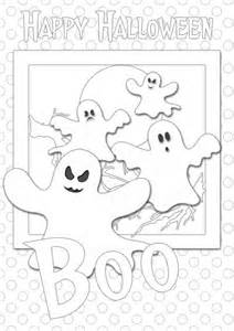Free Printable Halloween Coloring Cards