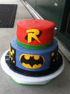Batman and Robin Cake Ideas