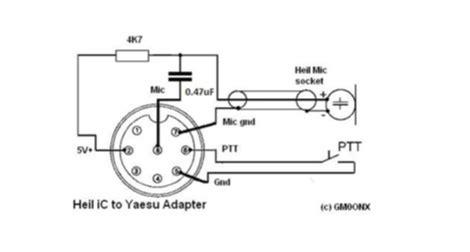 Yaesu Pin Mic Wiring Engine Diagram Images