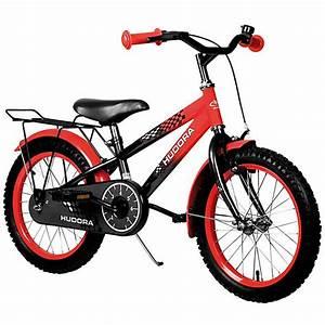 Fahrrad 18 Zoll Jungen : kinderfahrrad 16 zoll schwarz rot hudora mytoys ~ Jslefanu.com Haus und Dekorationen