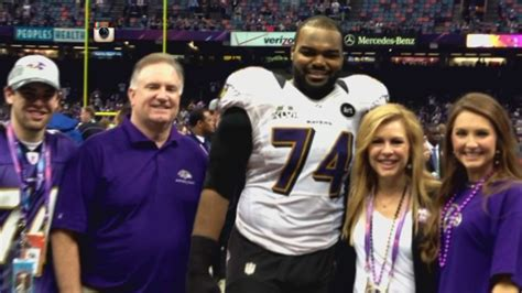 Michael Oher Is Over The Blind Side - YouTube