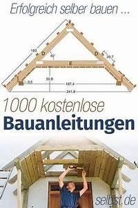 Holzschuppen Bauplan Kostenlos : bauanleitung projekte bauanleitung haus bauen und dachkonstruktion ~ Orissabook.com Haus und Dekorationen