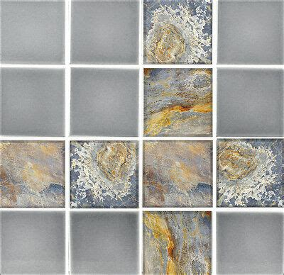 Transfers For Bathroom Tiles by 9 Tile Transfer Stickers 4 Quot X 4 Quot Rustic Slate For Kitchen