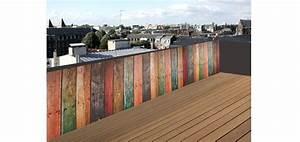 Brise Vue Pour Terrasse : wandgestaltung wohnzimmer brise vue brise vue en bois ~ Dailycaller-alerts.com Idées de Décoration