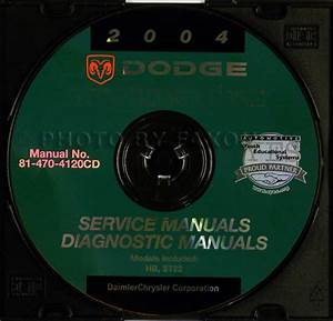 2004 Dodge Durango Repair Shop Manual Original 4 Volume Set